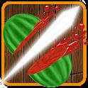 Fruit Cut Samurai Free icon