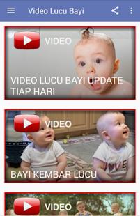 Video Lucu Bayi Update Tiap Hari - náhled
