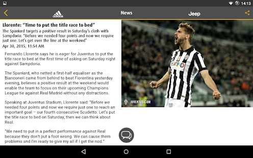 Juventus Live - screenshot thumbnail