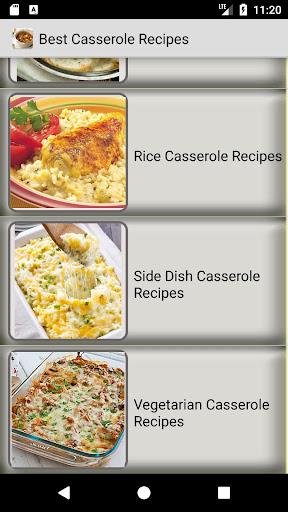 Easy Casserole Recipes : simple, quick recipes 1.3 screenshots 2