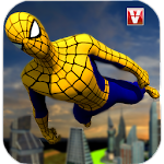 Super Spider Flying Hero Icon