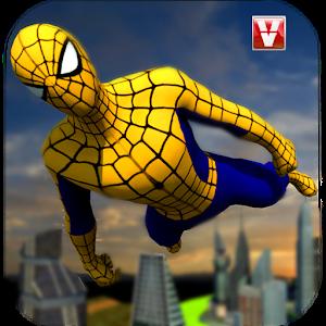 Super Spider Flying Hero