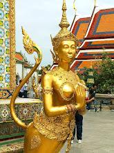 Photo: Bangkok, Wat Phra Kaew, Kinora (mythological creature)