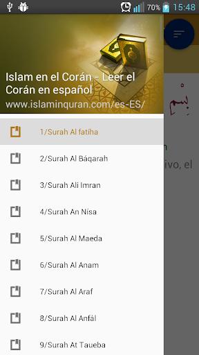 Islam en el Corán en español