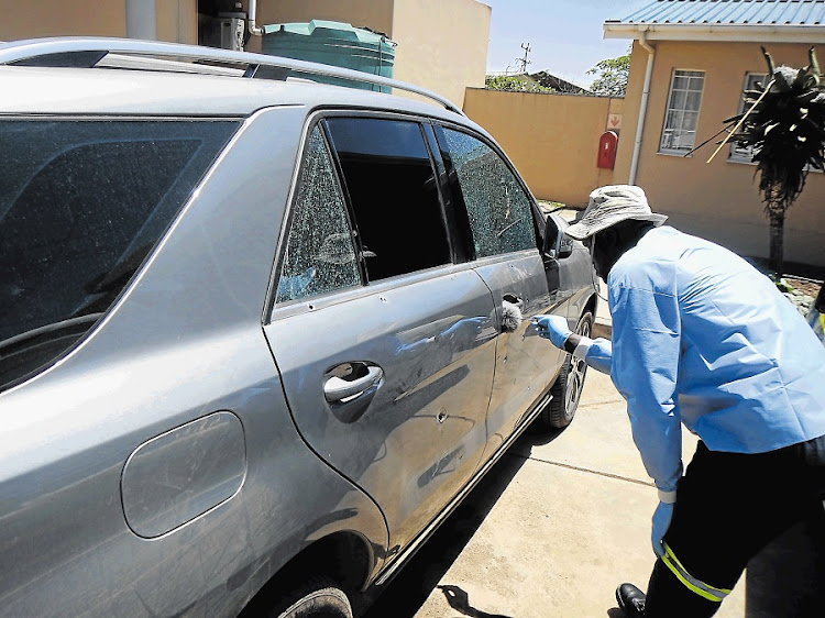 The last few months have seen the murders of several prominent ANC members in cases that remain unsolved. A common factor is the use of drive-by shootings, where the victims — most of them ANC ward councillors — have been shot dead in the driveways of their homes. Picture: DAILY DISPATCH
