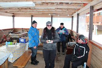 Photo: Naisten pulkkakisan voittaja: Sonja Juuti