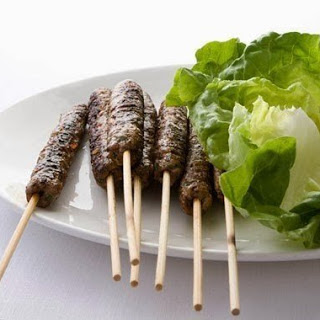 Turkish Lamb Kofte.