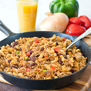 One-Pot Healthy Turkey Skillet.