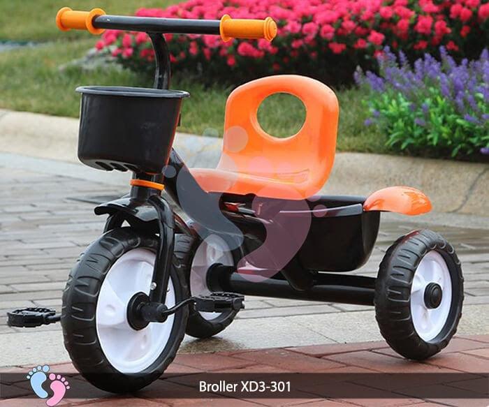 Xe đạp ba bánh trẻ em Broller XD3-301 4