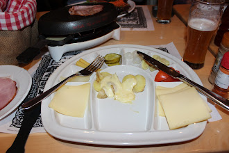 Photo: Raclette at Adler, Zurich