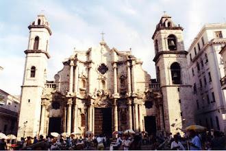 Photo: #008-La Havane-La cathédrale (18ème siècle)