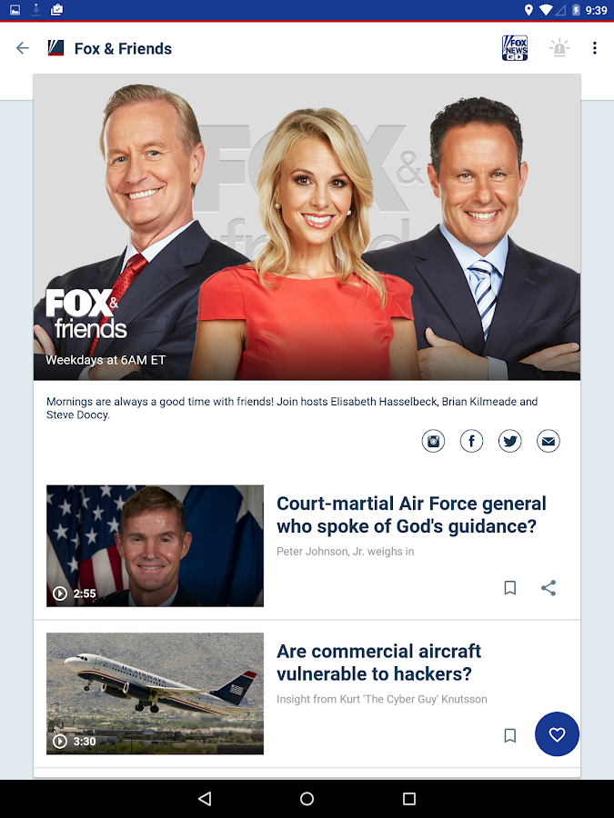 Fox News - screenshot