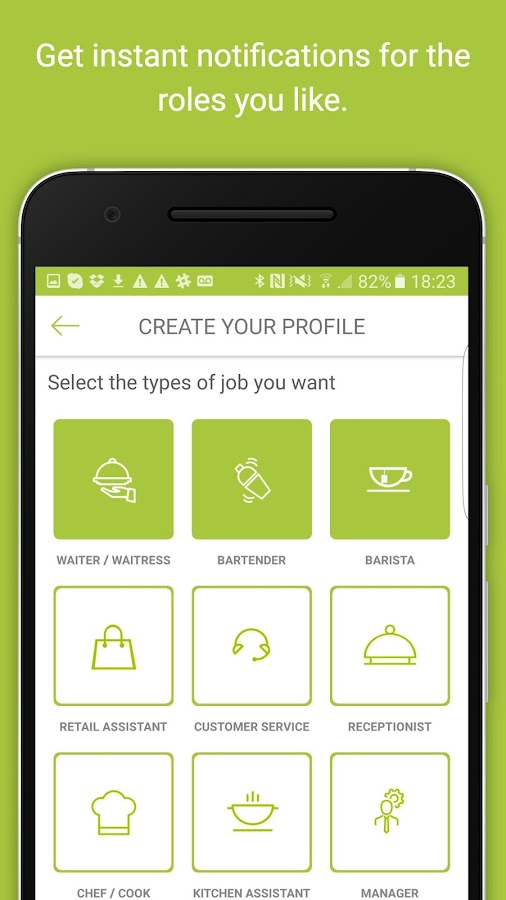 YapJobs – London Job search- screenshot