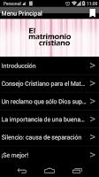 Screenshot of El Matrimonio Cristiano 2.0