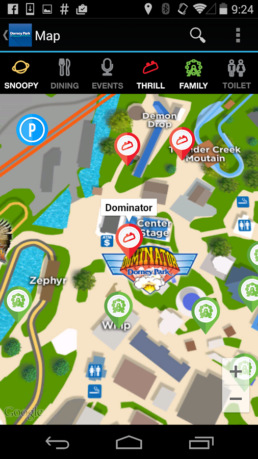 Dorney Park Android Apps On Google Play