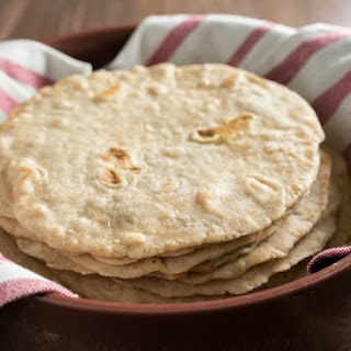 Homemade White Wheat Tortillas