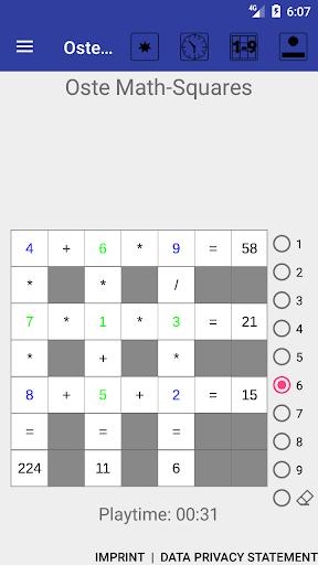 Oste Math-Squares cheat hacks