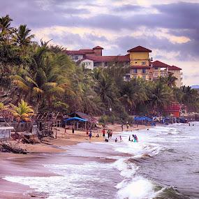 Anyer beach is charming by Syafriadi S Yatim - Landscapes Beaches ( #banten #negerina para jawara, #indonesia_indah #pantai #pantai anyer #anyer beach )