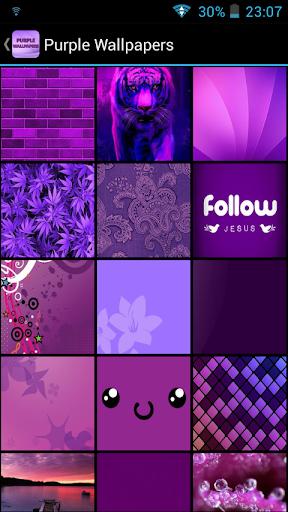 Fondos de Pantalla Violeta
