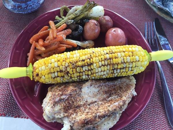 Camp Fire Chicken Recipe