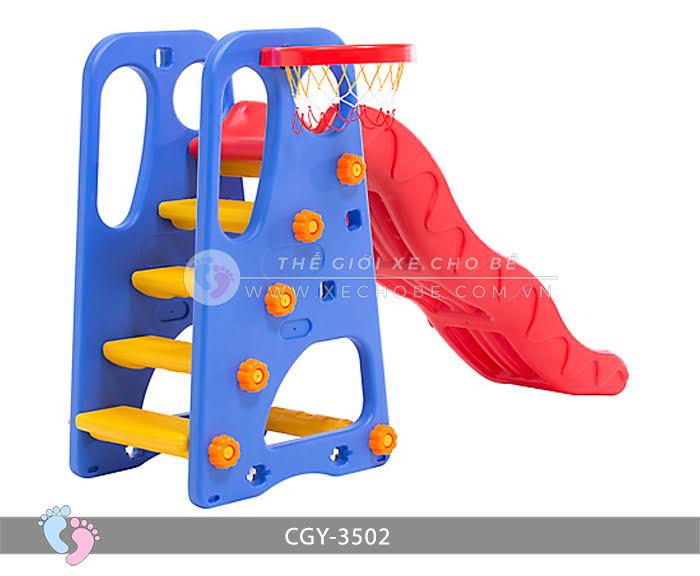 Cầu trượt bóng rổ cho bé YGC-3502 5