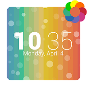 KB Theme - Rainbow Bubbles