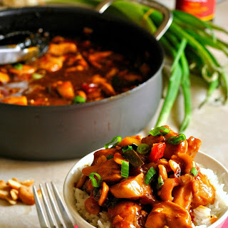 One Pot Kung Pao Chicken