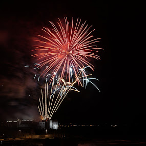 by Marc Lawrence - Abstract Fire & Fireworks (  )