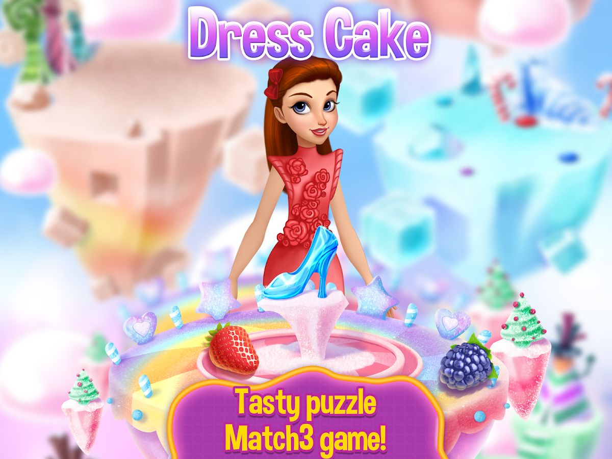 Dress Cake Match 3- screenshot