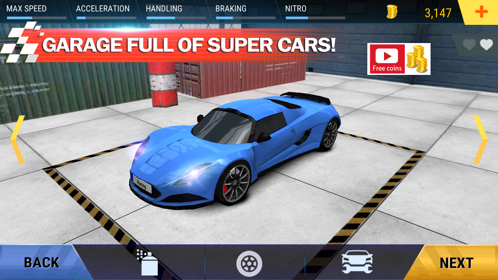 Speed Driver Drag Racing- screenshot