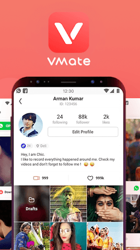 VMate 2019- Best Video Tube Mate& Video Downloader 2.03 2