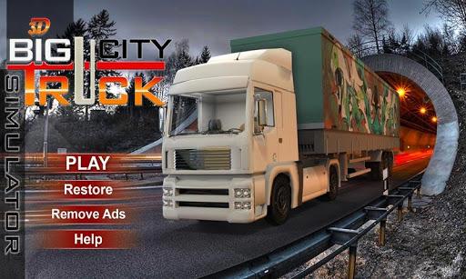 18 Wheeler Big Truck Sim