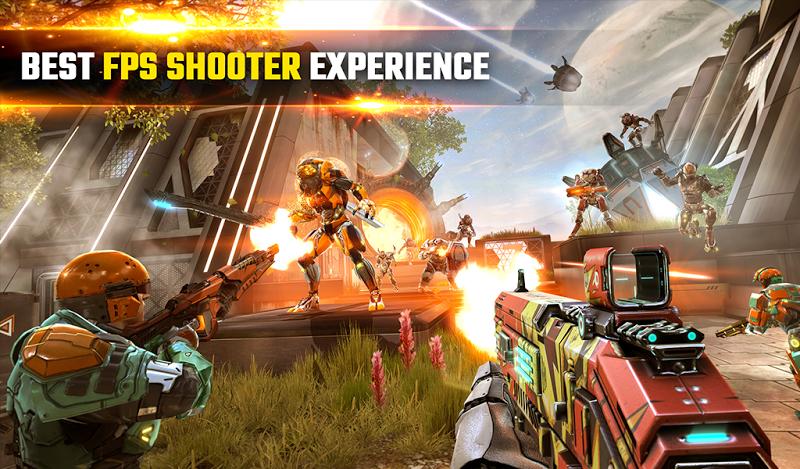 SHADOWGUN LEGENDS - FPS PvP and Coop Shooting Game Screenshot 16