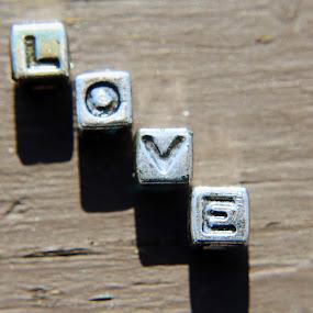 Bracelet Letters by H Scott Burd - Artistic Objects Jewelry ( l o v e letters )