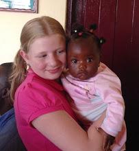 Photo: Kate and Baby Angel at Faith Baptist Church, Bamenda