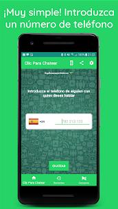 Clic para Chatear Sin Agregar Contactos WhatsApp 1