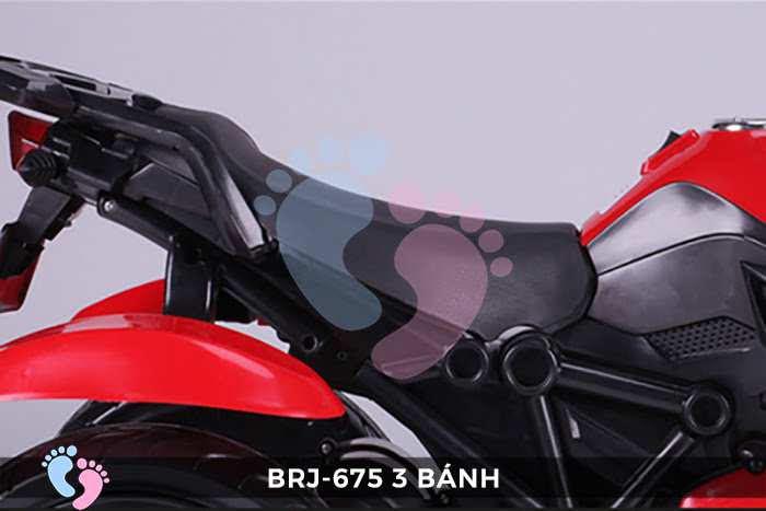 Xe moto điện trẻ em BRJ-675 3 bánh 17