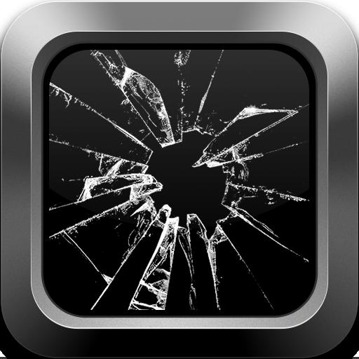 ブロークン画面 Prank 休閒 App LOGO-硬是要APP