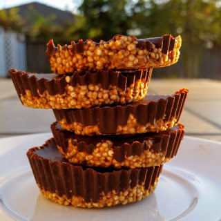 Peanut Butter Quinoa Cups.