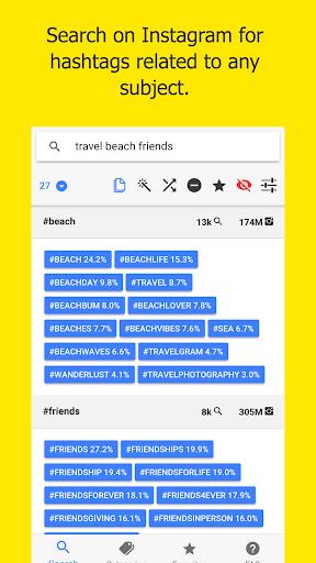 Leetags - Instagram Hashtags Generator 2.9.3 screenshots 1