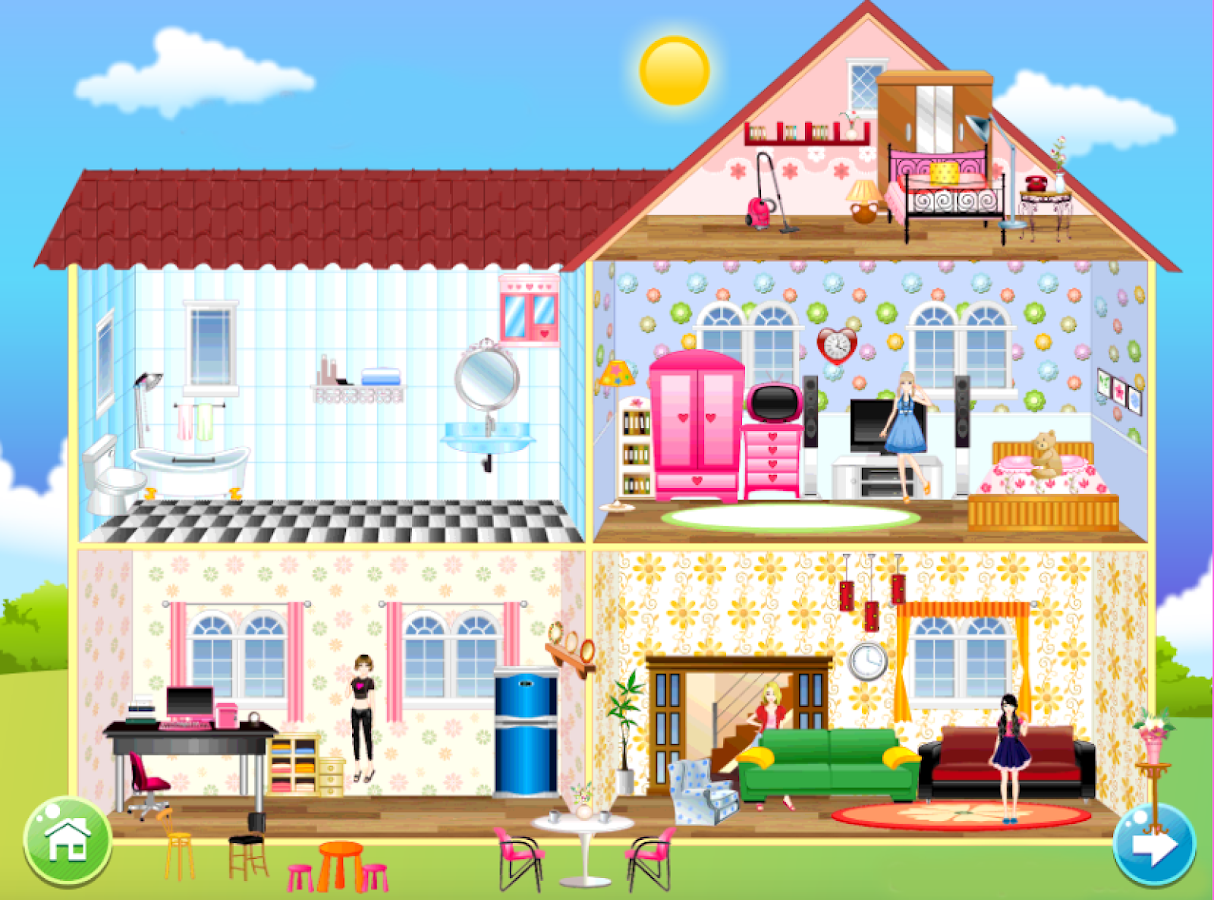 home decoration games screenshot - House Decorating Games