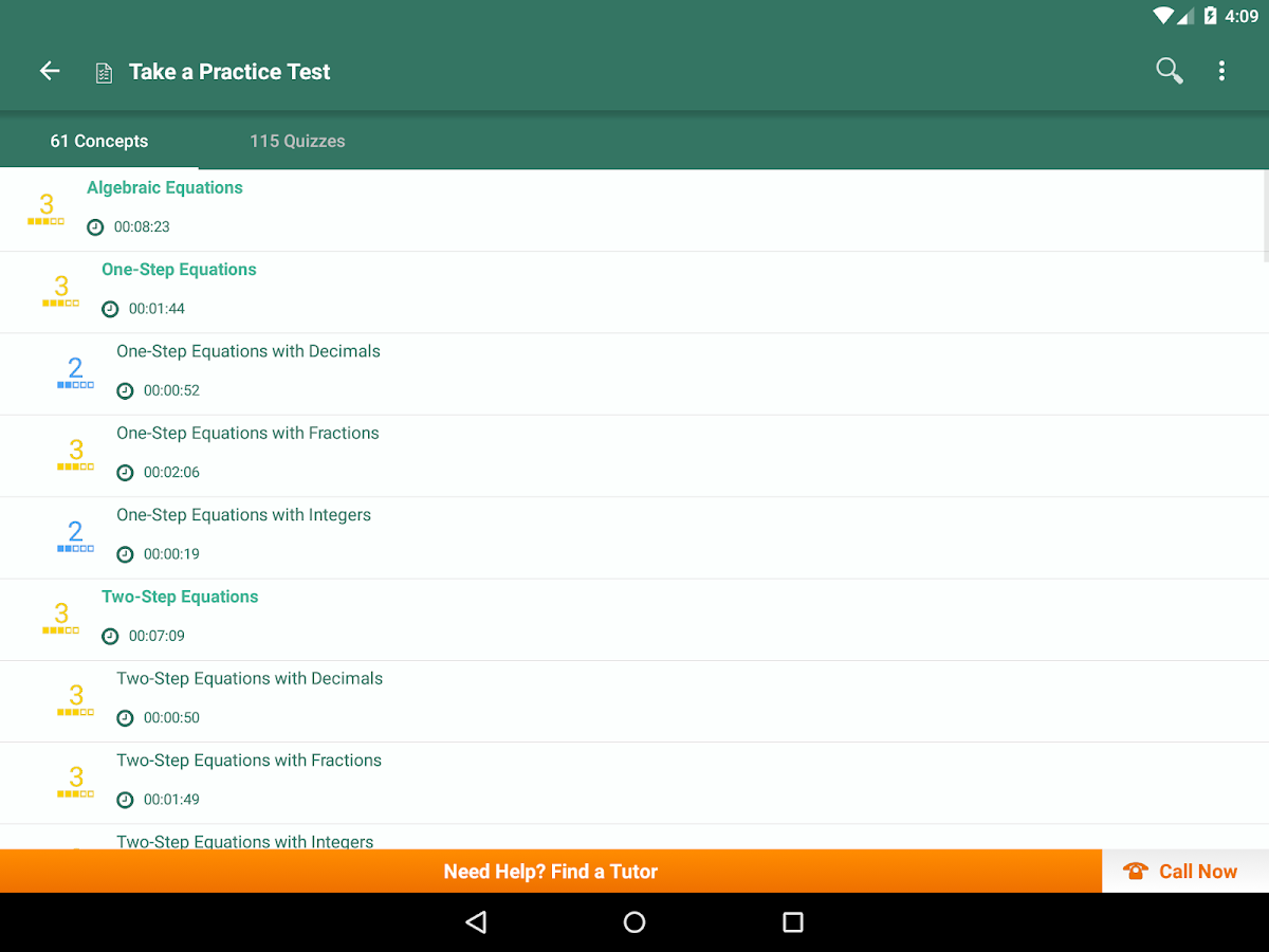 pre algebra practice prep android apps on google play pre algebra practice prep screenshot