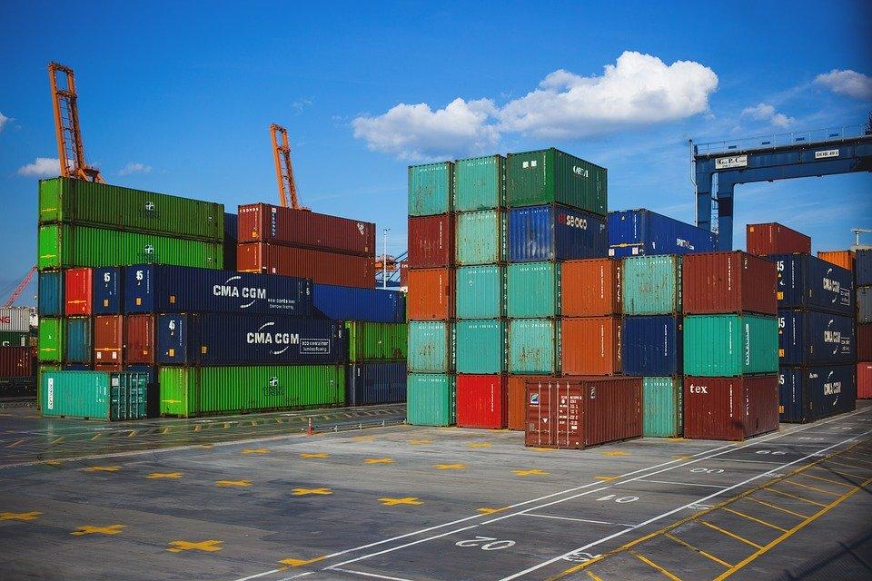 Business, Cargo Containers, Crate, Export, Freight