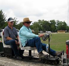 Photo: Art Morris and Ed Rains.    HALS 2009-0919