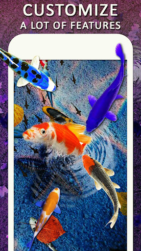 Download Koi Water Pond Fish Live Wallpaper: 3D Fish Garden MOD APK 2