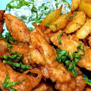 Crispy Fried Chicken Fingers