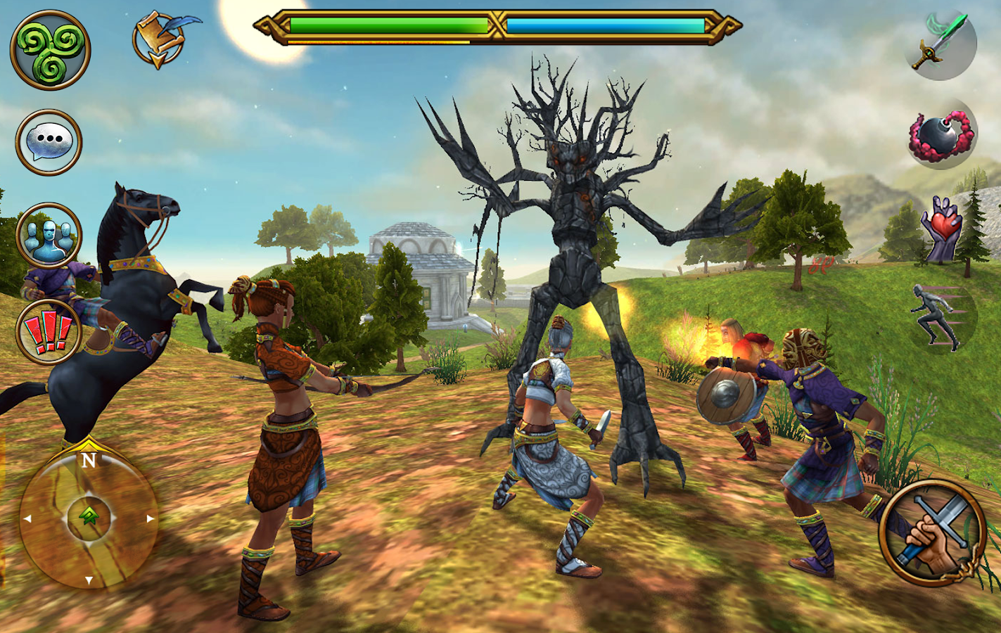 Celtic Heroes - 3D MMORPG- screenshot