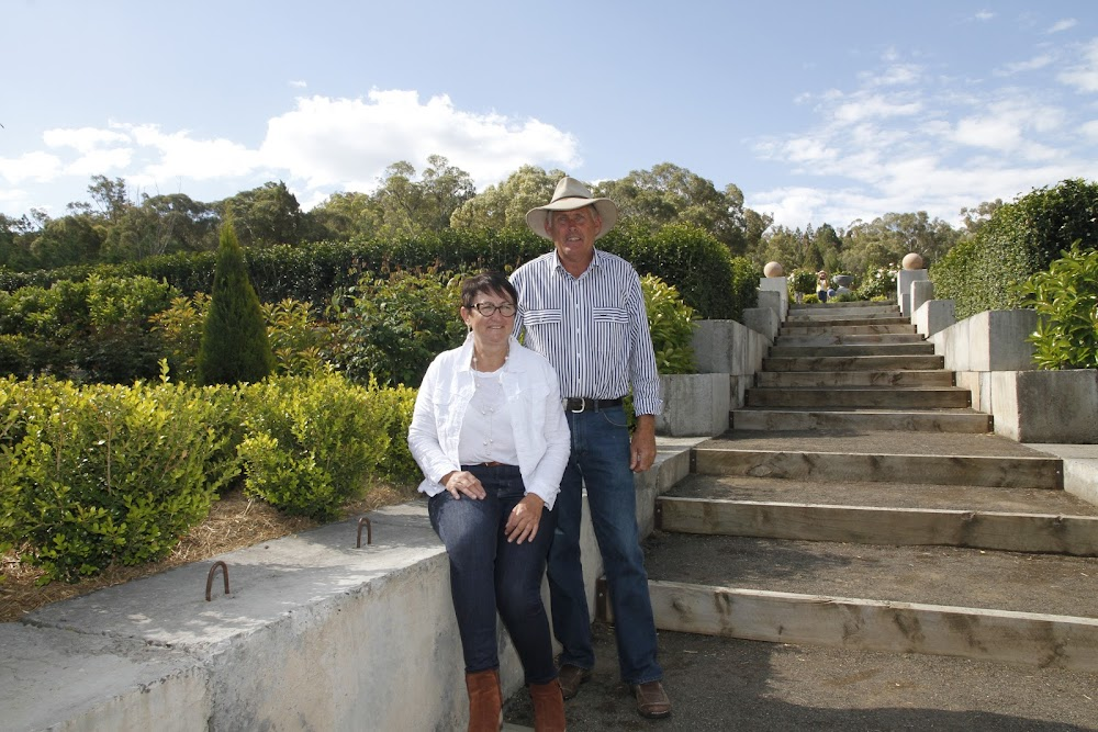 Kerrie Moss and Ted Stephens opened their Kaputar Road garden to hundreds of visitors. The open day was a tribute to the late Noeline Wales and raised a staggering $4000 for the Narrabri CT Scanner appeal.