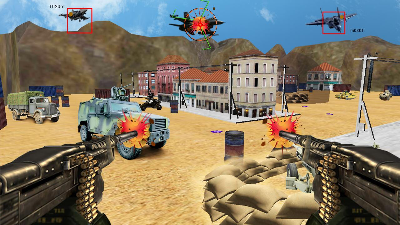 Screenshots of Anti Aircraft Attack: Jet War for iPhone