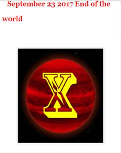 September 23 2017 End of the world - náhled
